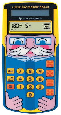 TI-Little Professor SOLAR Texas-Instruments Schulrechner - Taschenrechner