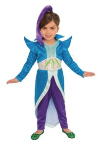 Rubies Shimmer & Shine Zeta Cartoon Child Girls Halloween Costume 640115