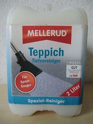 Mellerud Teppich Tiefenreiniger 2 L Teppichreiniger Reiniger für Sprühsauger