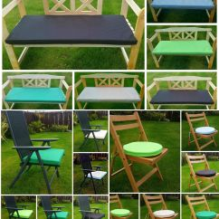Garden Chair Cushion Covers Uk Reclining Wing Patio Set Cushions Replacement Outdoor Seat And 2