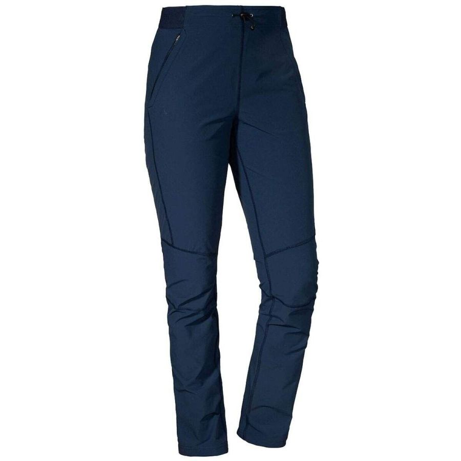 Schöffel Pants Tight Damen Wanderhose blau