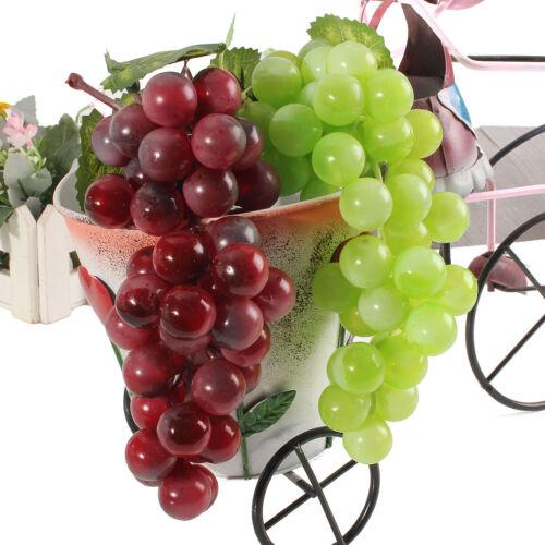 Bündel In Echtgröße Künstlich 36 Trauben Plastik Gefälschte Früchte Rubberiz
