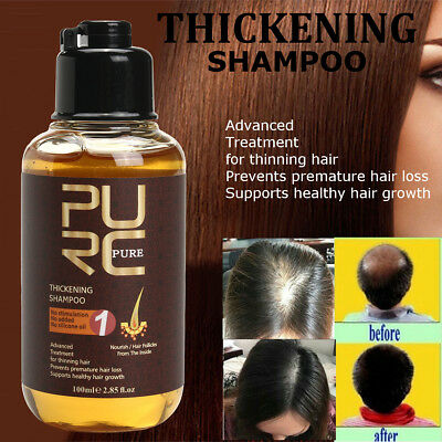 100ml Haarwuchs Shampoo gegen Haarausfall Haarfasern Haarverdichtung Hair Growth