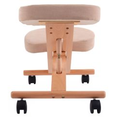 Posture Promoting Chair Reclining With Ottoman Outdoor Wooden Kneeling Orthopaedic Stool Ergonomic
