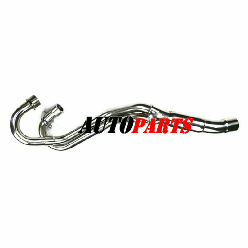 Stainless Steel Header exhaust head pipe For Yamaha Raptor