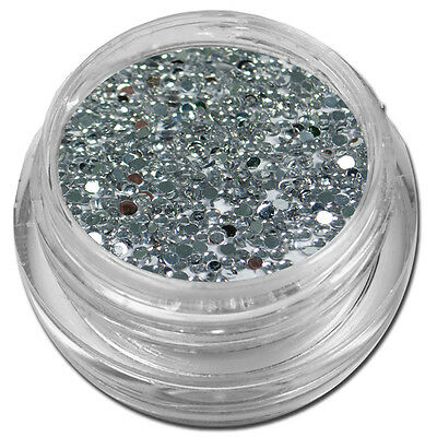 500 Strasssteine Silber Strass Stein Nailart Nageldesign Nails  #421-01