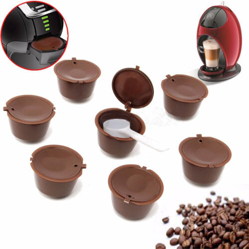 Edelstahl Wiederverwendbar Kaffe Kapseln Filter For Dolce Gusto 53mm