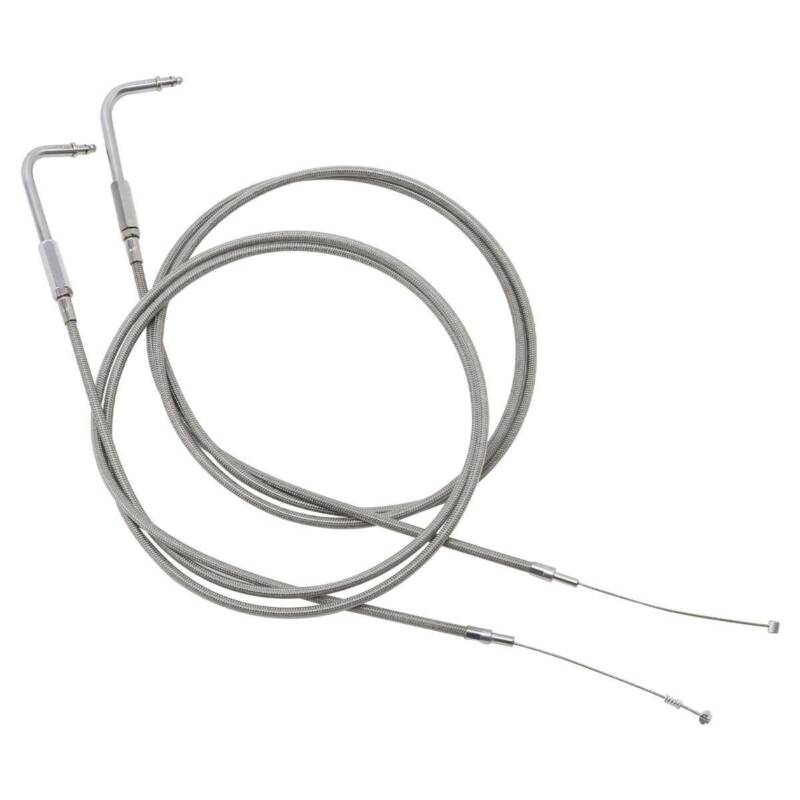 160cm 63'' Throttle Cable Fit For Harley Road King Dyna