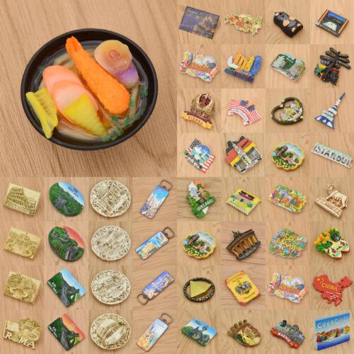 UK US DE Kühlschrankmagnet Magnet Sticker Reise Andenken Kühlschrank Aufkleber