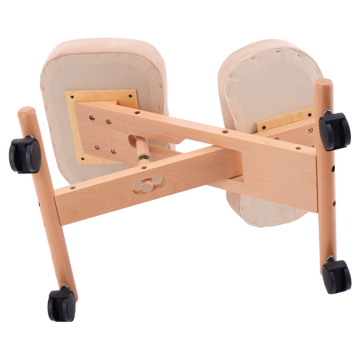 ergonomic posture kneeling chair papasan frame sale wooden orthopaedic stool