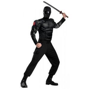 GI Joe Snake Eyes Muscle Costume GI Joe Halloween Fancy Dress
