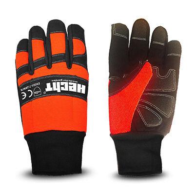 Hecht gefütterte Schnittschutzhandschuhe Handschuh für Kettensäge Forstschutz