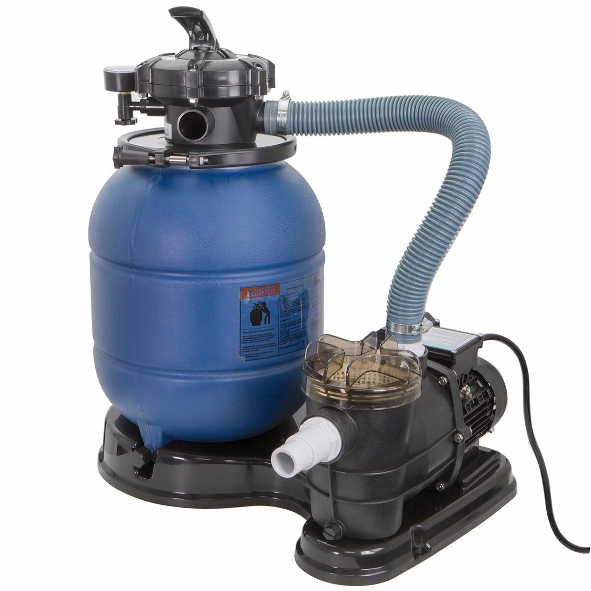 "2400gph 13"" Sand Filter 34 Hp Above Ground Swimming Pool"