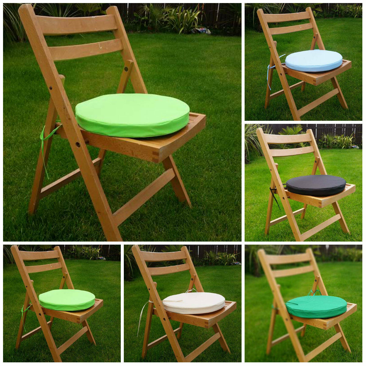Kitchen Chair Seat Covers Round Bistro Chair Cover Cushion Seat Stool Tie Pads