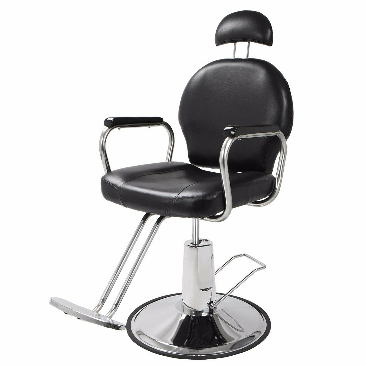 New Reclining Hydraulic Barber Chair Salon Styling Beauty