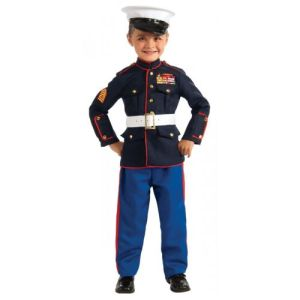 Marine Dress Blues Costume Halloween Fancy Dress