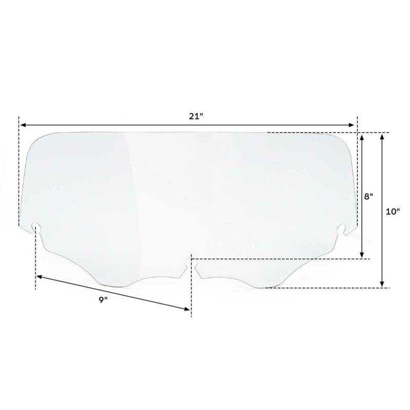 Front Outer Batwing Fairing 8