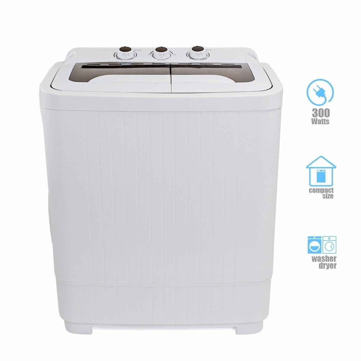 Portable MINI Washer Machines Compact 8  9LB Washing Spin Dryer Laundry RV Dorm  eBay