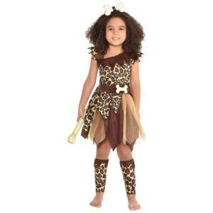 Cave Girl Costume Halloween Fancy Dress