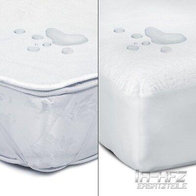 Matratzenschoner Matratzenauflage Matratzenbezug Spannbettlaken 4-Eckgummi Bett