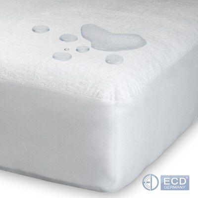 Matratzenschoner Matratzenauflage Spannbetttuch Molton om 100% Baumwolle Einlage