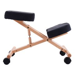 Ergonomic Chair Posture Swivel Dance Wooden Kneeling Orthopaedic Stool