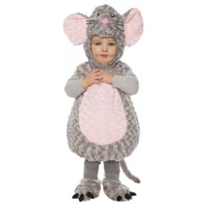 Mouse Costume Baby Toddler Kids Halloween Fancy Dress