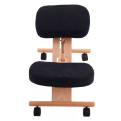 Ergonomic Posture Kneeling Chair Fisher Price Space Saver High Mocha Butterfly Wooden Orthopaedic Stool