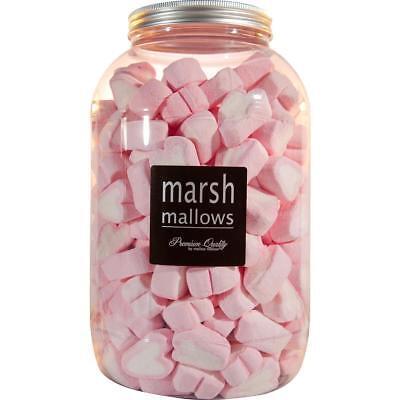 Mellow Mellow Marshmallow Herzen 200 Stk.in der Retrodose (1er Pack)