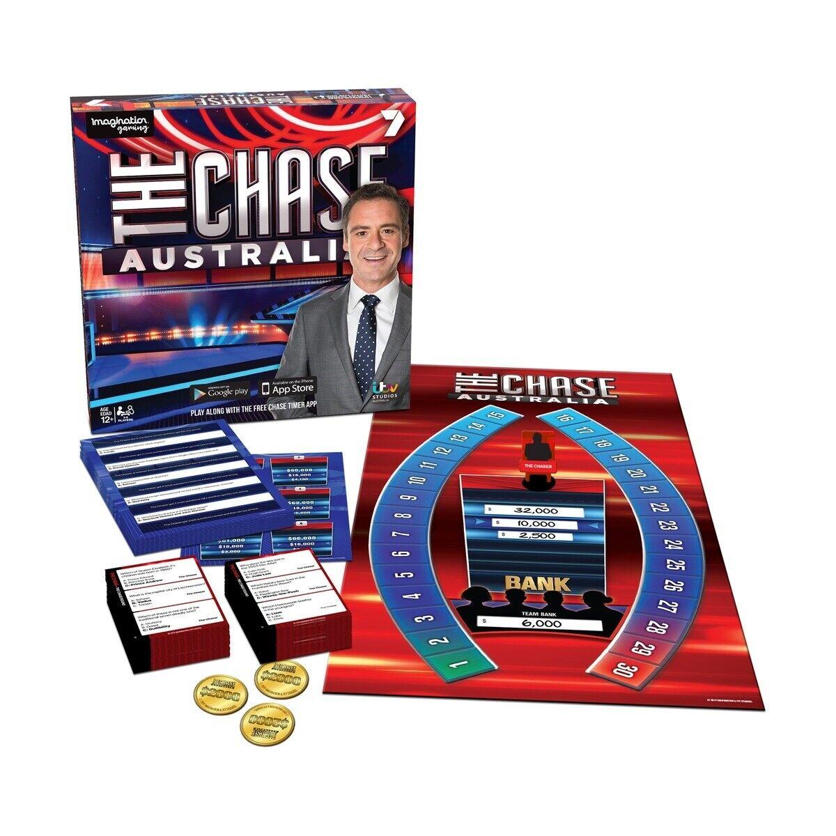 The Chase Australia Family Kids Indoor Fun Board Game Activity Trivia Ima01207 669165012077 Ebay