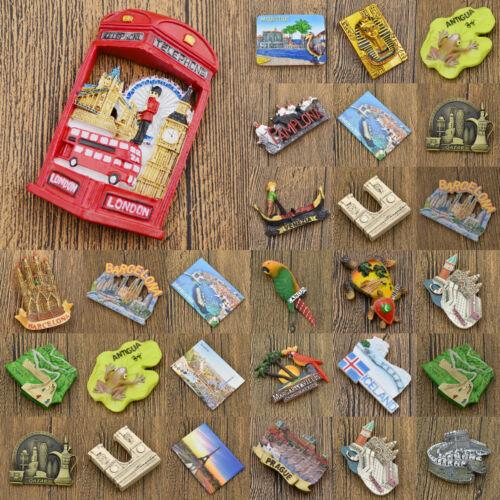 Reise kühlschrankmagnet Spain Kühlschrank Aufkleber Prag London Magnet Sticker