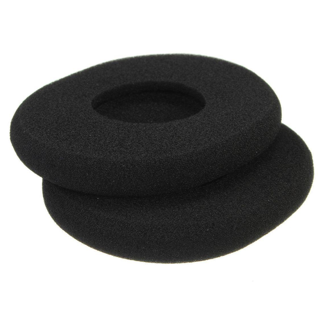 Ohrkissen Ohrpolster Schaumstoff für Kopfhörer  Sony Sennheiser Logitech 55 mm