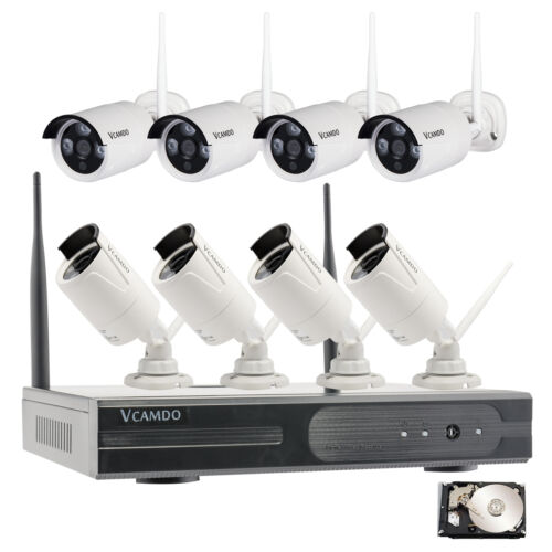 Wireless Security Systems Camera Home 8