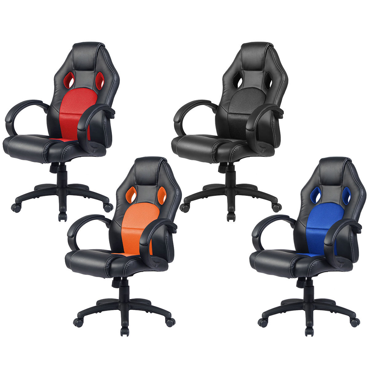 racing office chairs chair cover hire dunstable sports car seat gaming armchair