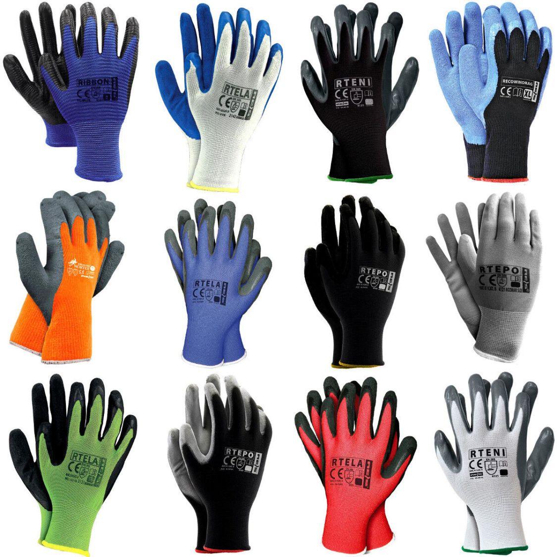 Arbeitshandschuhe Gartenhandschuhe Handschuhe Montagehandschuhe Gr. 7-10
