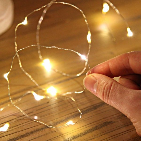 Leds Battery Operated Mini Led Copper Wire String Fairy Lights 10m