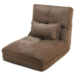 Recliner Chair Bed Cover Ideas For A Wedding Futon Ebay Fold Down Flip Out Lounger Convertible Sleeper Couch W Pillow