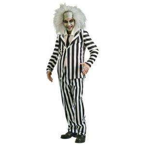 Beetlejuice Costume Adult Halloween Fancy Dress