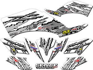 Raptor 660 RAPTOR660 Yamaha Graphics Kit Deco Stickers ATV
