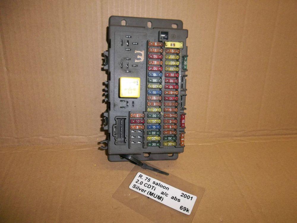 medium resolution of rover 75 1999 2006 mg zt t 2001 2006 interior fuse box