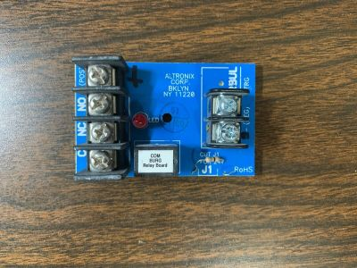 Altronix RBUL Sensitive Relay Module 12/24 VDC