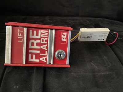 FCI MS-2 Fire Alarm Pull Station Gamewell