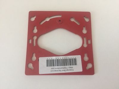 Gentex Mounting Plate For GXS-4-15/75WR Fire Alarm Remote Strobes