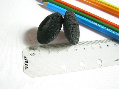 2 Ohrpolster für Headset Kopfhörer 40 mm Schaumstoff