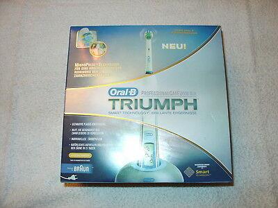 Oral-B Triumph ProfessionalCare 9500 DLX Elektrische Zahnbürste NEU mit Zubehör