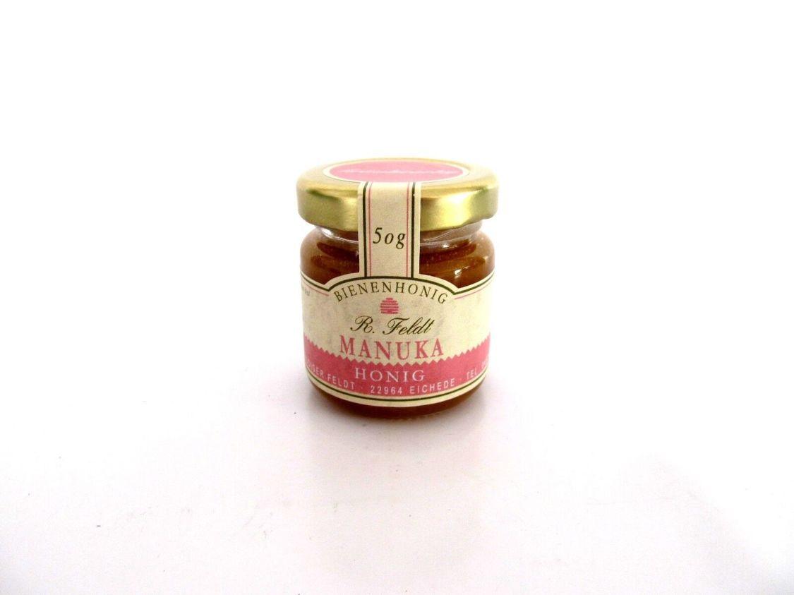 Manuka-Honig (Teebaum), Neuseeland, dunkel, flüssig, kräuterartig kräftig, 50 g