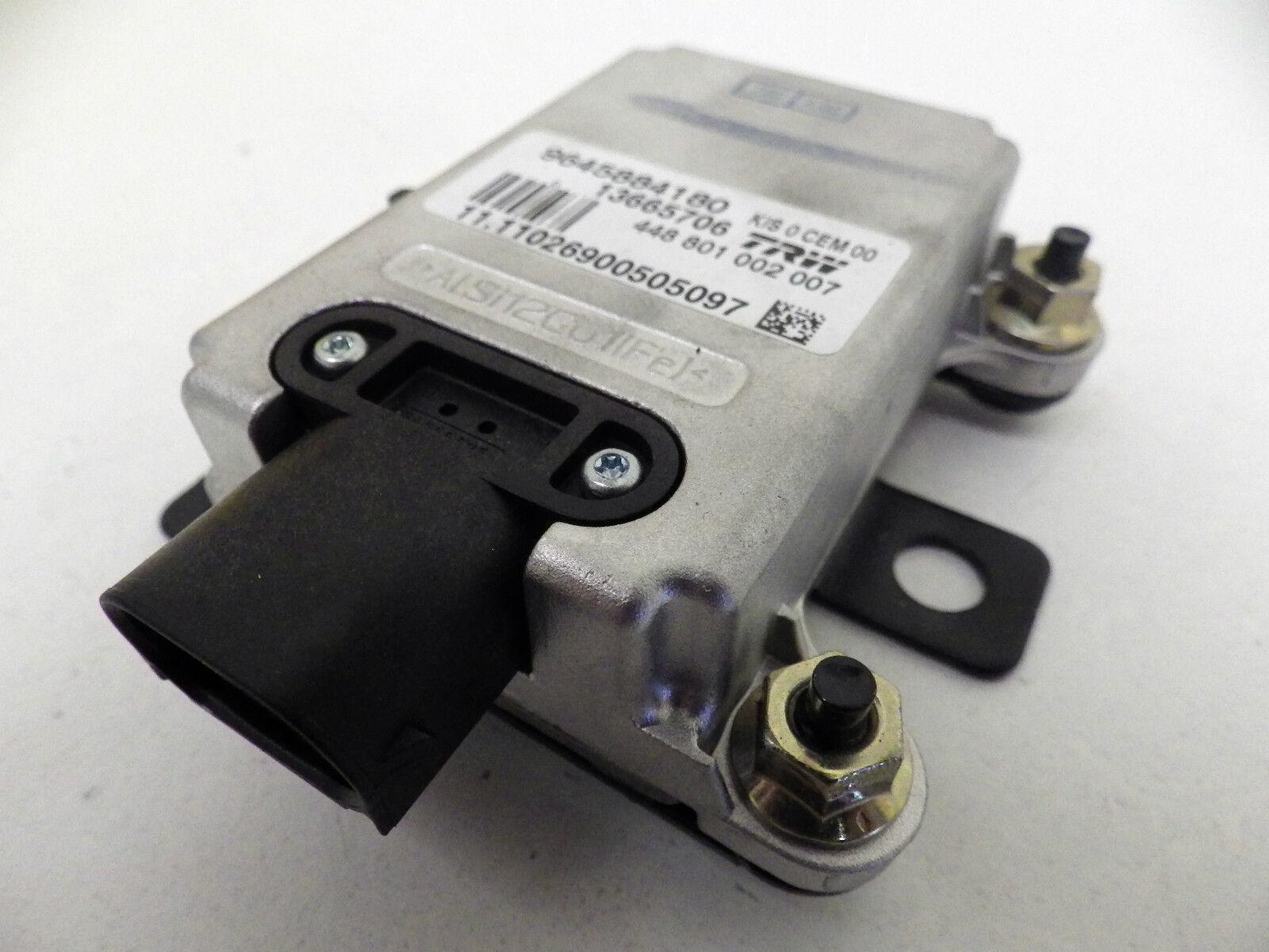 peugeot 407 fuse box fault