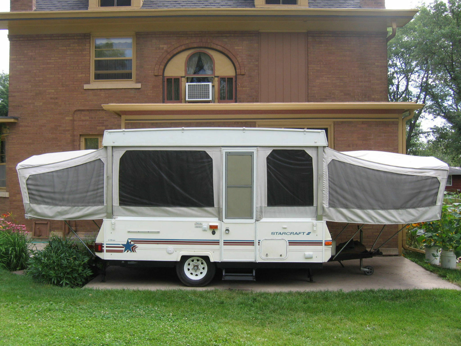 How to Clean a PopUp Camper Canvas  eBay