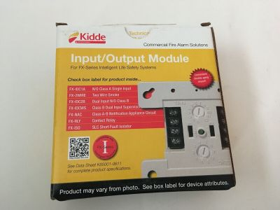 *NIB* *New* Kidde FX-IDCWS Fire Alarm Analog Module Waterflow and Supervisory