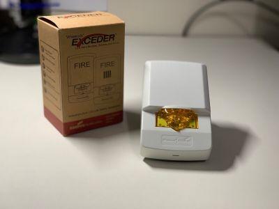 *NIB* *New* Wheelock LSTW-NA Fire Alarm Signaling Amber Remote Strobe LARGE QTY